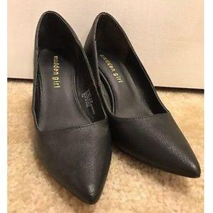 Madden Girl Shoes - Madden Girl BaeBae Black Heels Size 5.5